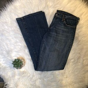7 For All Mankind Bootcut Blue Jeans in Size 29
